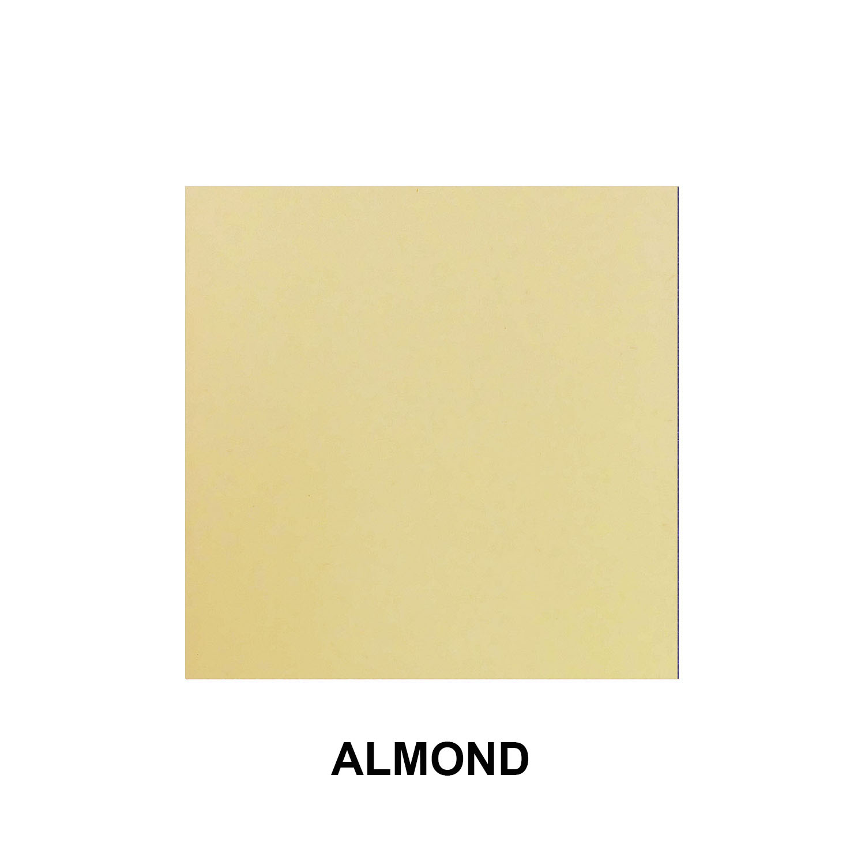 Almond Aluminum Finish