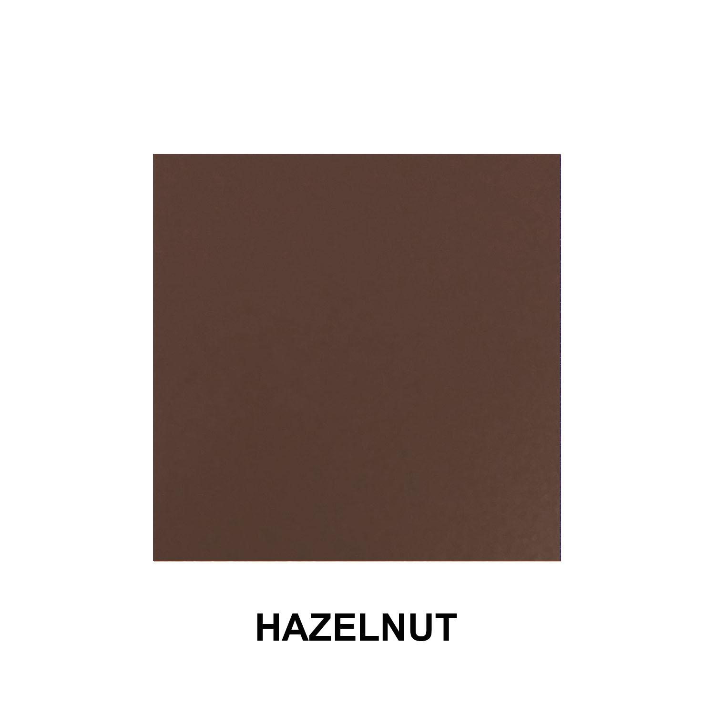 Hazelnut Aluminum Finish