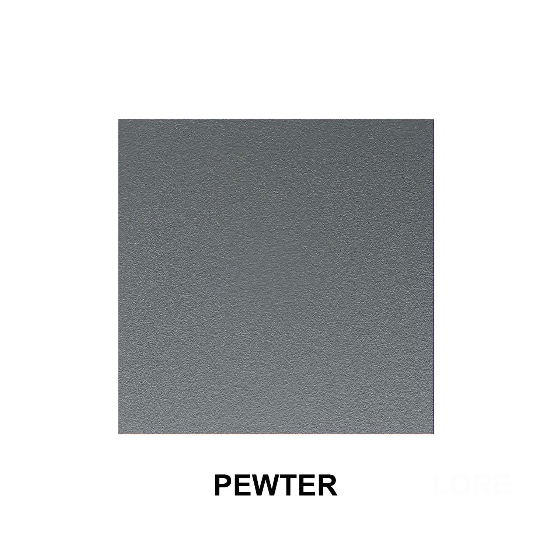 Pewter Aluminum Finish