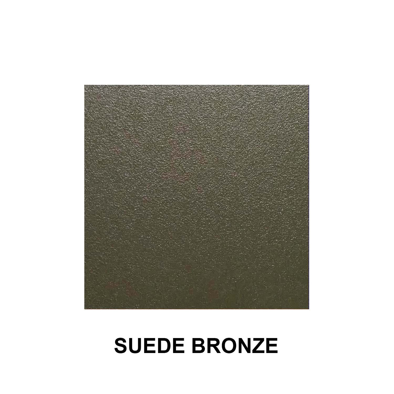 Suede Bronze Aluminum Finish